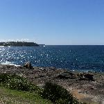 looking north from headland at Freshwater