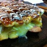 Okomen 's Okonomiyaki in kl at Desa Sri hartamas .. love it so much!!