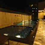 Swimming pool, unfortunately it's quite small comparing to other Novotel that I stay
