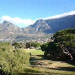 Table Mountain view from Braai area