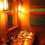 Il bagno della stanza Cinnamon