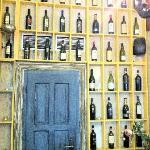 nice wine display