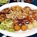"""the """"Mariscada"""" seafood platter a seafood orgy on a platter"""
