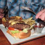 Dante's burger