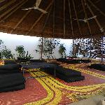 Veranda dell'hotel Djamila
