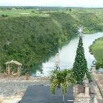 View down to River Chavon