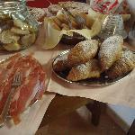 Agriturismo Pian di Cataverna: particolare della colazione