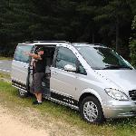 Noel and his van