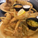 Friday perch platters