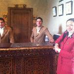 staff del hotel monasterio