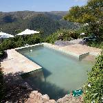 Der Pool, sah ein wenig dreckig aus...