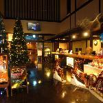 クリスマスのフロント付近