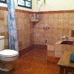 Bathroom of the Shark room