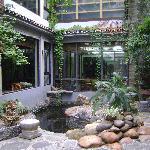 Garden at the hotel
