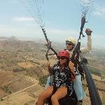 Paragliding Pachacamac, Lima Peru