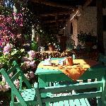 Terraza y comedor al aire libre