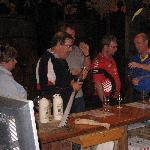 Peter Van Gents for a wine tasting
