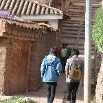 walking around Chinchero