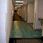 Hallway outside the room.