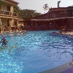 At the Terra Paraiso Pool