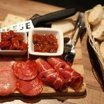 Selection of Mediterranean Cold Meats