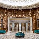 Our luxury Riyadh hotel's Reception Area