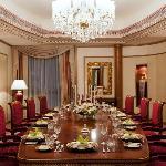 A Royal Suite Diningroom at The Ritz-Carlton, Riyadh