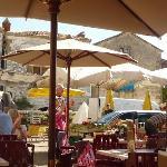 Monpazier market day