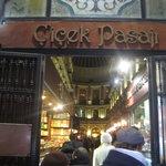 Entrance of Cicek Pasaji