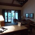 Taj Club room Sitting area