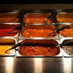 Maza's buffet