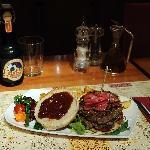 Country burger maxi