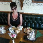 Cream Teas in Raffles - our afternoon treat every day of our stay