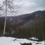 Gil's route through the mountains