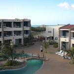 vue de notre balcon, chambre 521