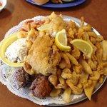 seafood platter - yum!
