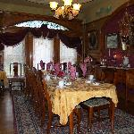 Dining room at Castle Marne