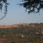 Montepulciano from the terrace