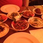starters. all 8 off them. from the fixed price menu