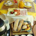 Petit dejeuner ete 2012