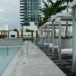 roof deck cabanas