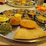 Gujarati Thali as Lunch!