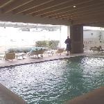 Le piscine interne sono 2, senza cascate