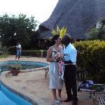 la piscina del kenga Giama