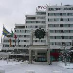 Hotel  RUSOTEL von außen  Jan 2012