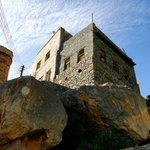 House on the cliff edge