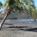 The beach in front of La Vida Loca