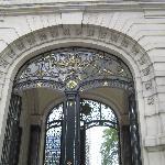 entrance to Palacio Paz , Buenos Aires