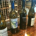 Wines to taste at one of several winery stops