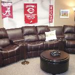 Home Theater Seating in the Sports Lounge